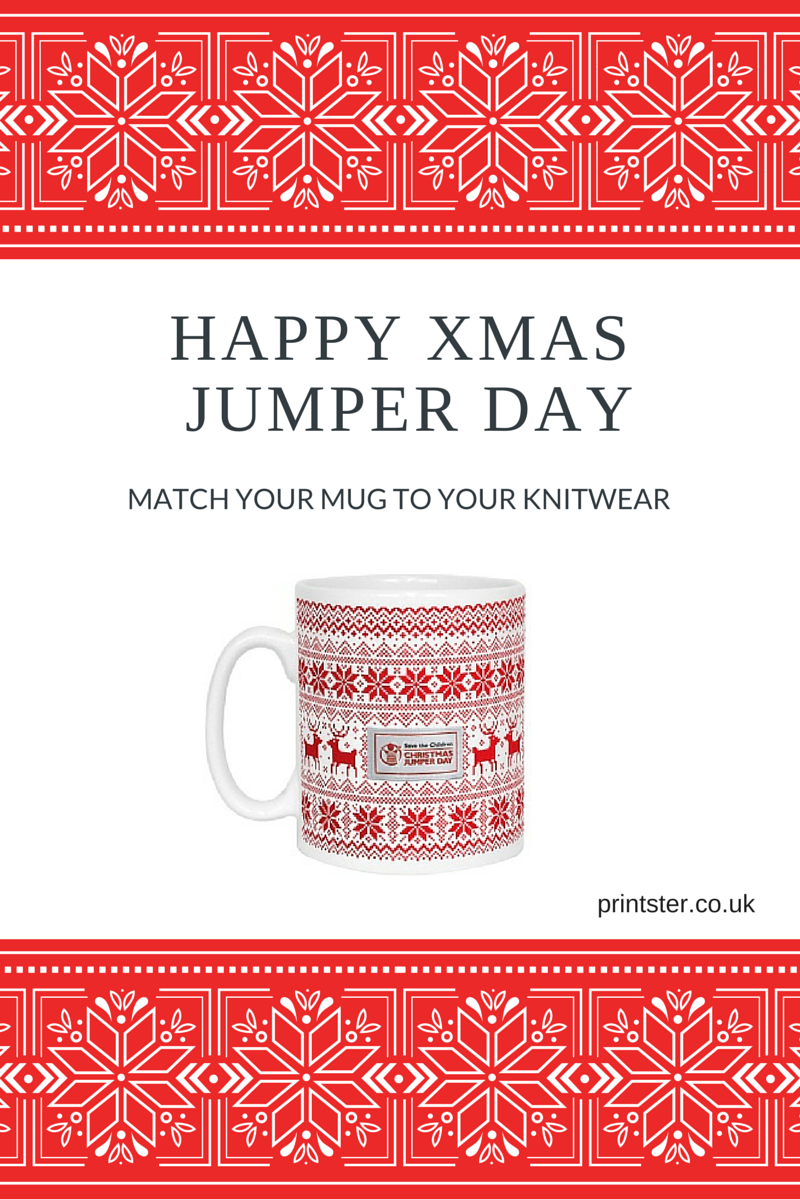 Christmas Jumper Day Mugs
