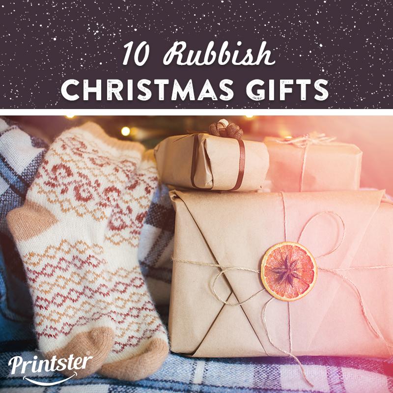 Rubbish Christmas Gifts