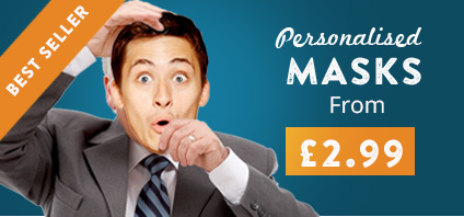 Personalised Masks from £2.99