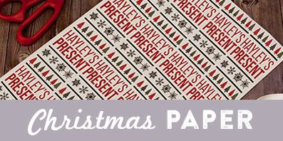 Personalised Christmas Gift Wrap