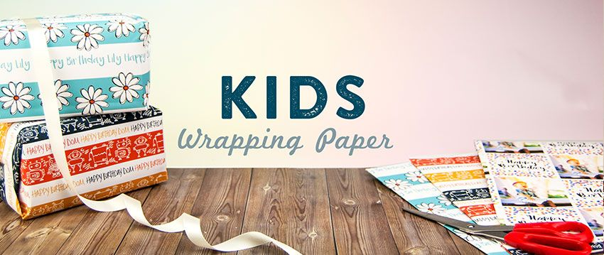 Wrapping Paper For Kids