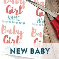 Personalised Baby Gift Wrap